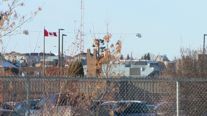 This is the closest we got to Saskatoon's Regional Psychiatric Centre.